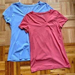 GAP V-Neck Tee's Pure Body and Vintage Wash